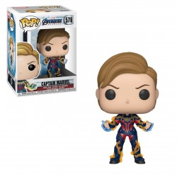 Pop! Marvel : Captain Marvel - Figurine Funko