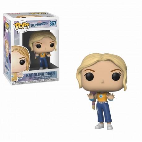Pop! Marvel : Runaways Karolina - Figurine Funko
