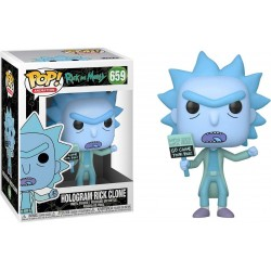 Pop! Rick & Morty : Hologram Rick Clone - Figurine Funko
