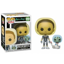 Pop! Rick & Morty : Space Suit Snake - Figurine Funko