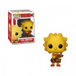 Pop! The Simpsons Lisa Saxophone - Figurine Funko