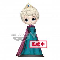 Disney Q-Posket Elsa Bleu Claire