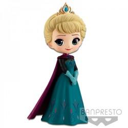 Disney Q-Posket Elsa Bleu Fonce