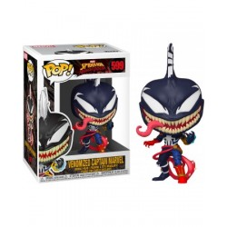 Pop! Spiderman Maximun Venom Captain Marvel