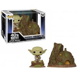 POP! Yoda With Hut on Dagobah
