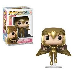 POP! Wonder Woman Golden Armor Flying