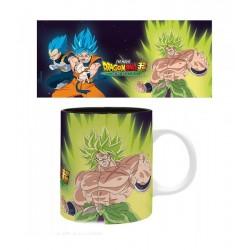 Mug Dragon Ball Z Broly Goku Vegeta