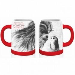 Mug Star Wars Chewbacca & Porg 570 ml