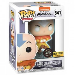 Pop! Avatar Aang On Airscooter Glow in the dark