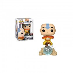 Pop! Avatar Aang On Airscout Exc