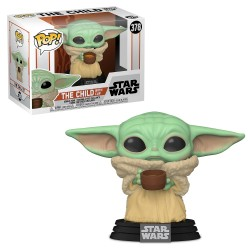 Funko Pop ! Star Wars The Mandalorian : The Child with Cup