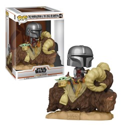 Funko Pop ! Deluxe: The Mandalorian & The Child On Bantha