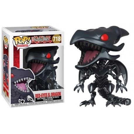 Funko Pop! Yu-gi-oh! Dragon Noir Aux Yeux Rouges