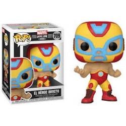 Funko POP! Marvel: Lucha Libre - Iron Man