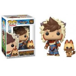 Funko POP! and Buddy: Monster Hunter - Lute with Navirou