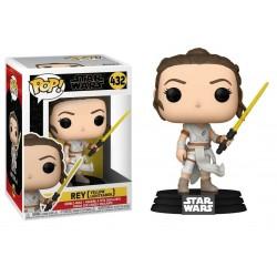Funko POP! Star Wars - Rey With Yellow Lightsaber