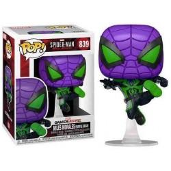 Funko POP! Spiderman - Miles Morales Purple Reign