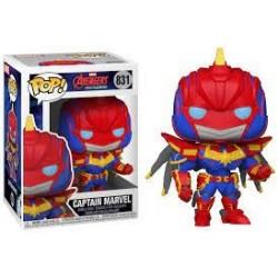 Funko POP! Avenger Mech Strike - Captain Marvel