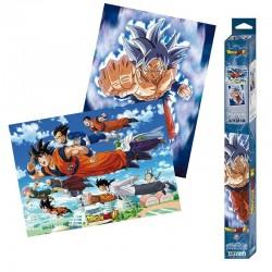 Set de 2 Poster Dragon Ball Super - Goku & Friends