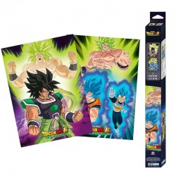 Set de 2 Poster Dragon Ball - Broly