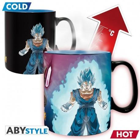 Mug Heat Change Dragon Ball - Vegetto & Trunks