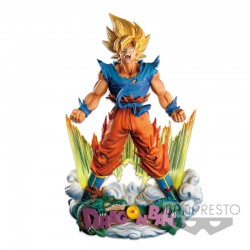 Dragon Ball Z Super Master Stars Diorama - Son Goku - The Brush