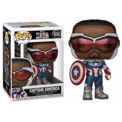 Funko POP! Le Faucon Et Le Soldat De L'Hiver - Captain America