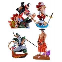 One Piece Log Box Wanokuni Vol.3 ( 1 Figurine Au Choix)