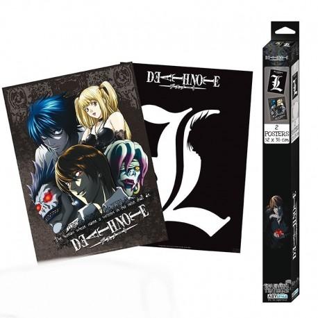 Set de 2 Posters Death Note 52x38