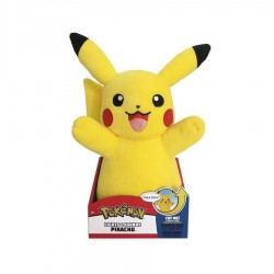 Peluche Pikachu Sonore 34 cm