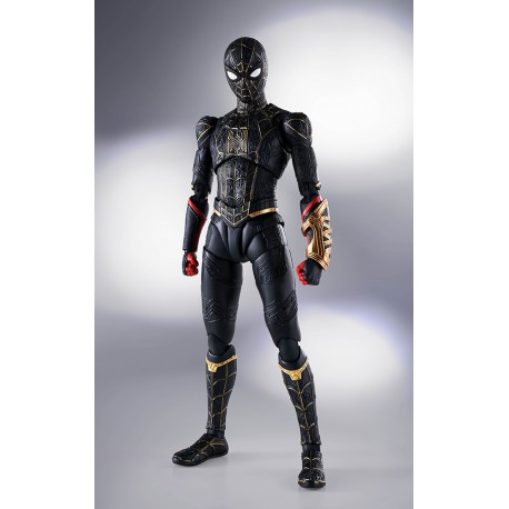 SpiderMan No Way Home Black Gold SHF