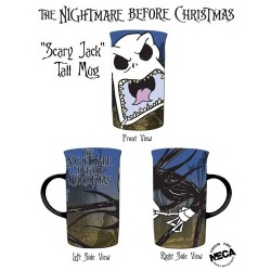 NIGHTMARE BEFORE CHRISTMAS Scary Jack Tall MUG